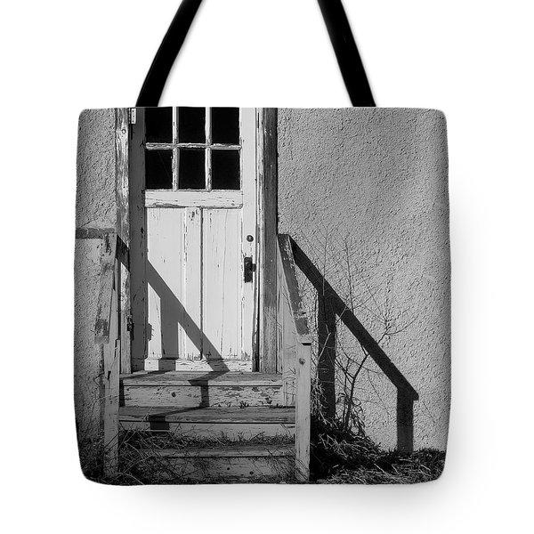 Back Door Tote Bag by Vicki Pelham