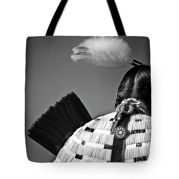 Back Feather Tote Bag by Diego Re