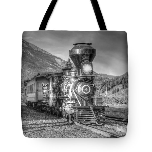 Back In Time Tote Bag by Ken Smith
