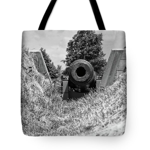 Back Off Tote Bag by Guy Whiteley