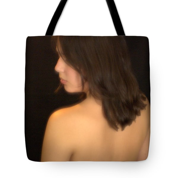 Back Profile Tote Bag