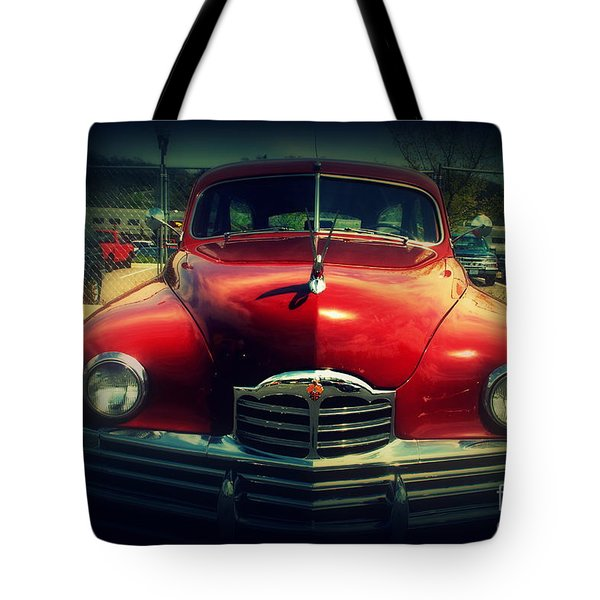 Back To The Future Packard Tote Bag by Susanne Van Hulst
