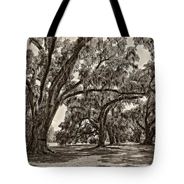Back To The Future Sepia Tote Bag by Steve Harrington