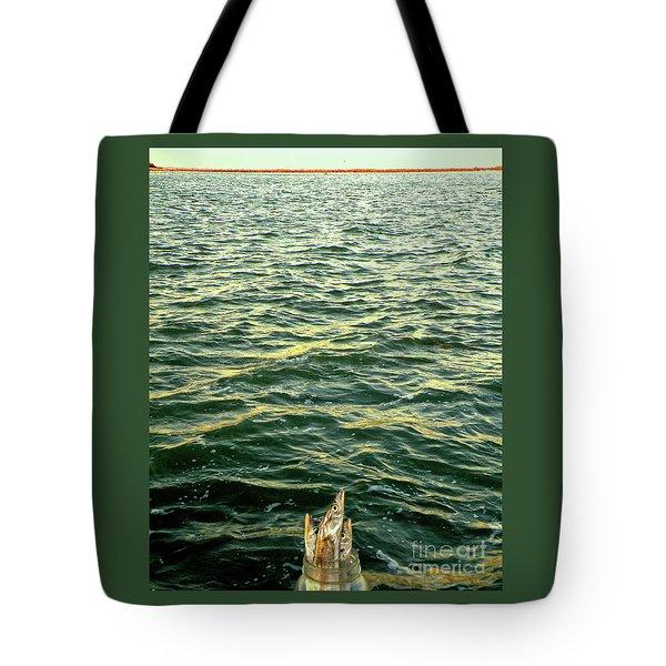 Back To The Sea Tote Bag by Joe Jake Pratt