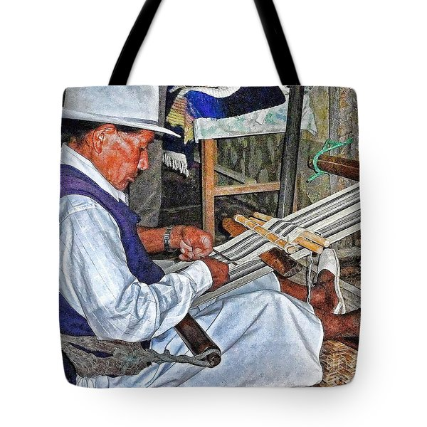 Backstrap Loom - Ecuador Tote Bag