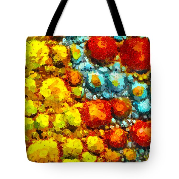 Bacteria 2 Tote Bag by Angelina Vick