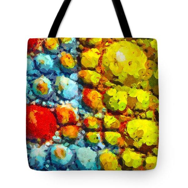 Bacteria 3 Tote Bag by Angelina Vick