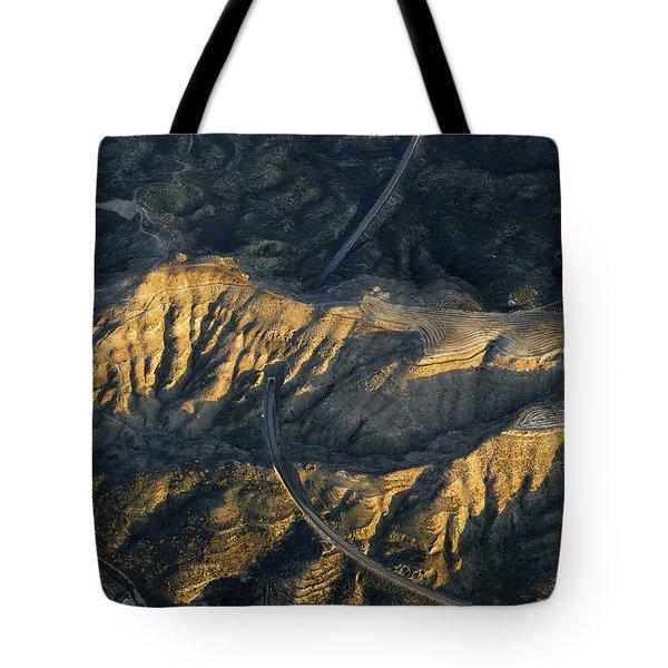 Bad Lands Granada Spain Tote Bag by Guido Montanes Castillo