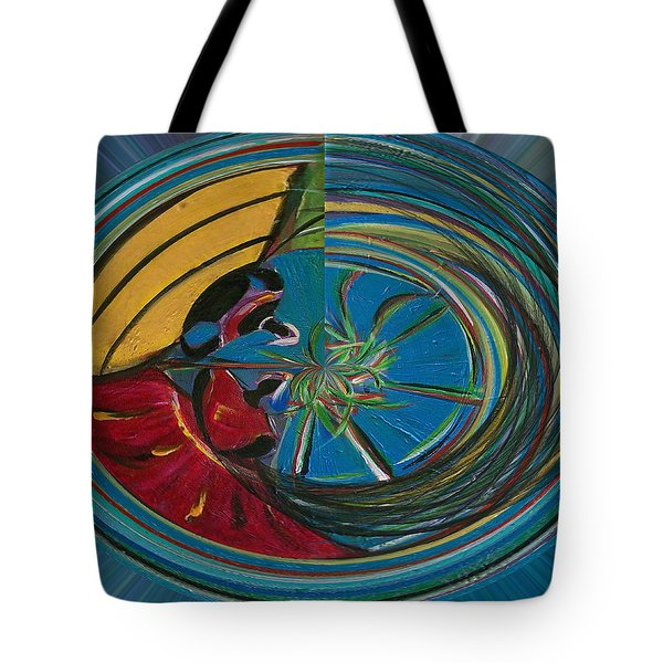 Baianas At The Shore II Tote Bag by Fatima Neumann