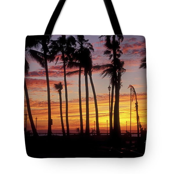 Baja Sunset La Paz  Mexico Tote Bag