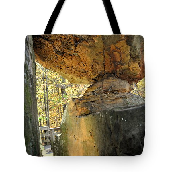 Balanced Rock Tote Bag by Marty Koch