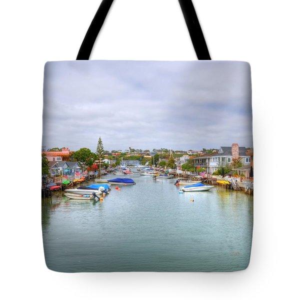 Balboa Island Tote Bag by Kelly Wade