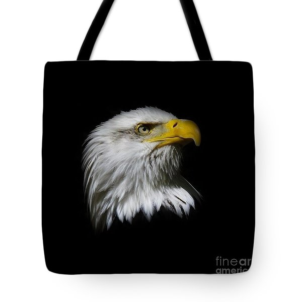 Tote Bag featuring the photograph Bald Eagle by Steve McKinzie