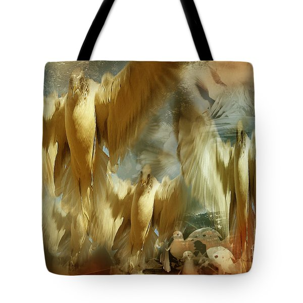 Tote Bag featuring the photograph Balet by Danica Radman