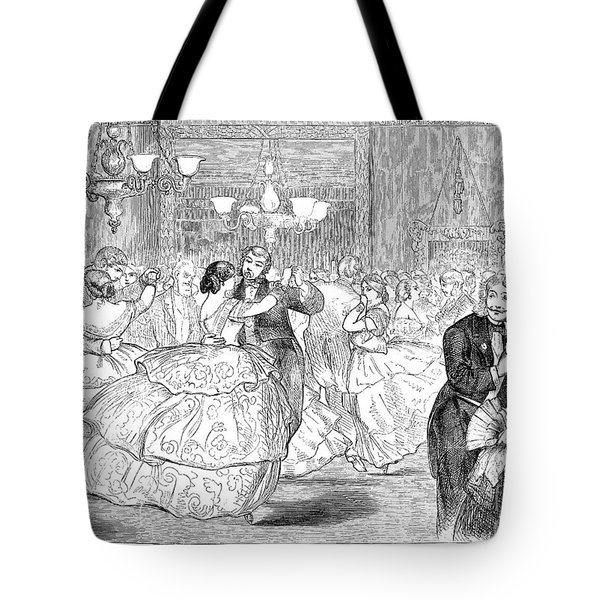 Ball, 1858 Tote Bag by Granger