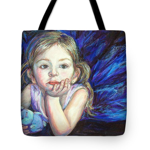 Tote Bag featuring the painting Ballerina Dreams by Li Newton