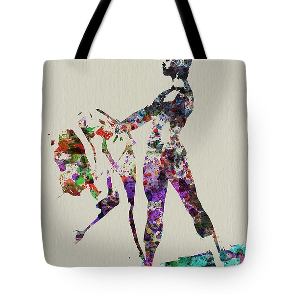 Ballet Dance Tote Bag