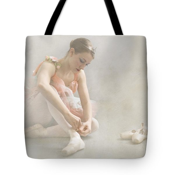 Ballet Slippers D003986-b Tote Bag by Daniel Dempster
