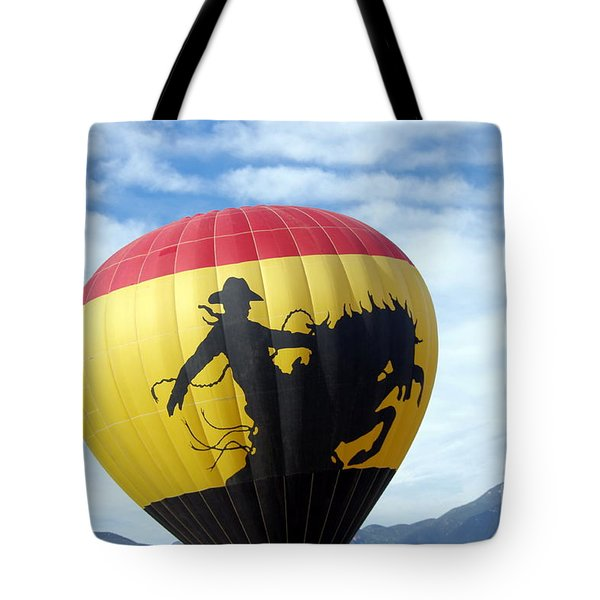 Tote Bag featuring the photograph Balloon 24 by Deniece Platt