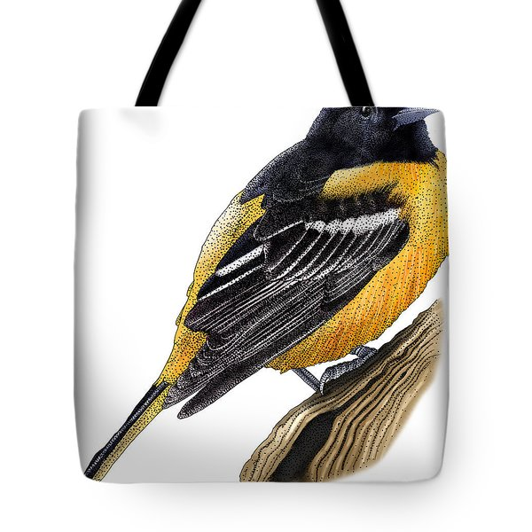 Baltimore Oriole Tote Bag by Roger Hall and Photo Researchers