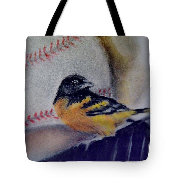 Baltimore Orioles Tote Bag by AE Hansen