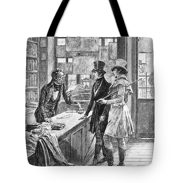 Balzac: Illustration Tote Bag by Granger