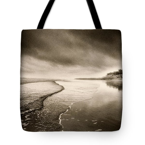 Bamburgh Castle Tote Bag by Simon Marsden