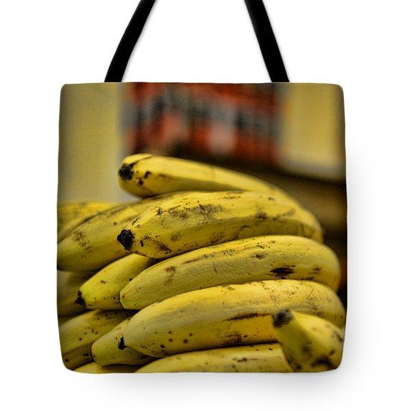 Bananas Tote Bag by Paul Ward