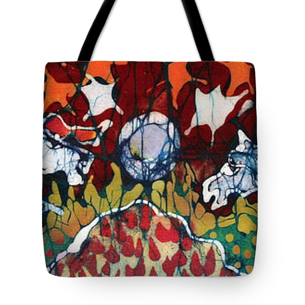 Band Of Horses Tote Bag by Carol Law Conklin