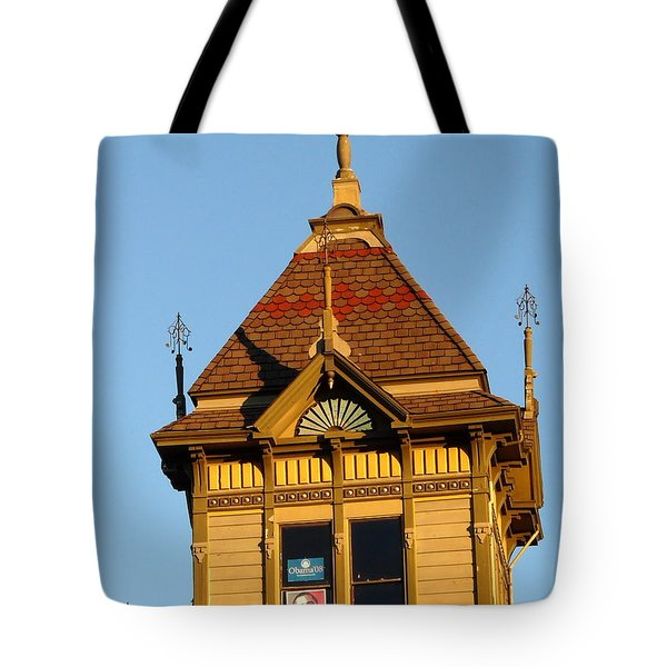 Barack Obama Hope Tote Bag by Jeff Lowe