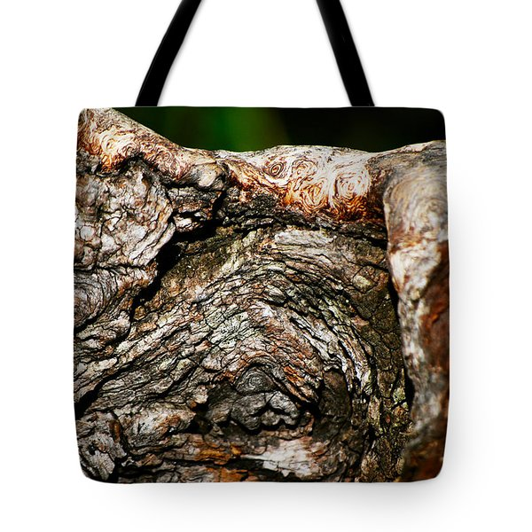 Bark Tote Bag by Christopher Gaston