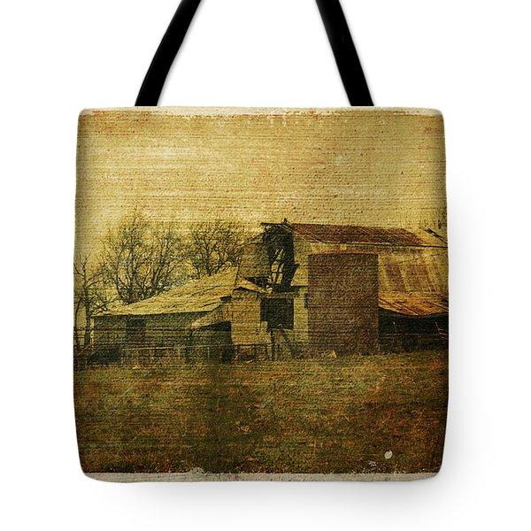 Barn 3 Tote Bag by Toni Hopper