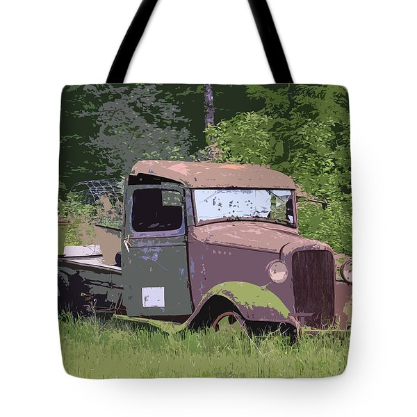 Barn Fresh Pickup Tote Bag by Steve McKinzie