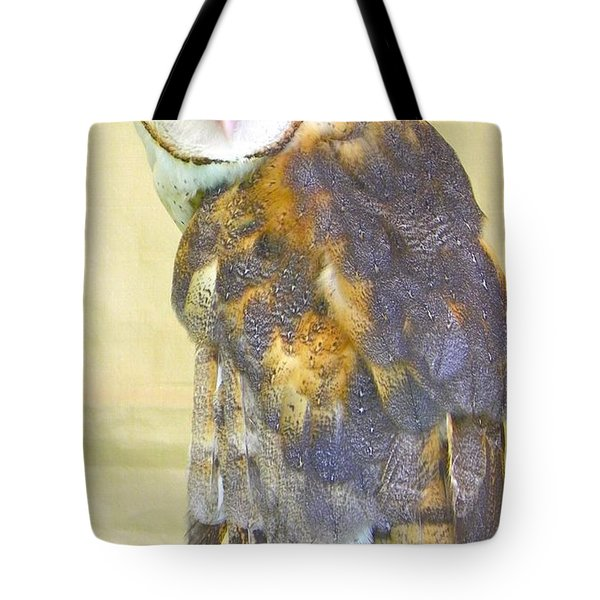 Barn Owl Tote Bag by KD Johnson