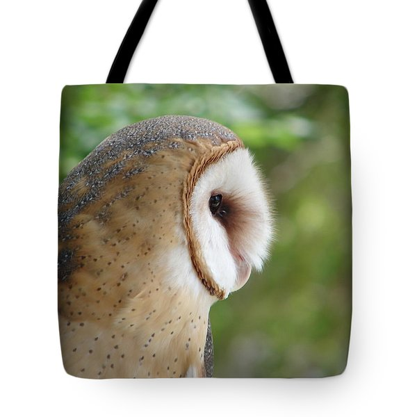 Barn Owl Tote Bag by Randy J Heath