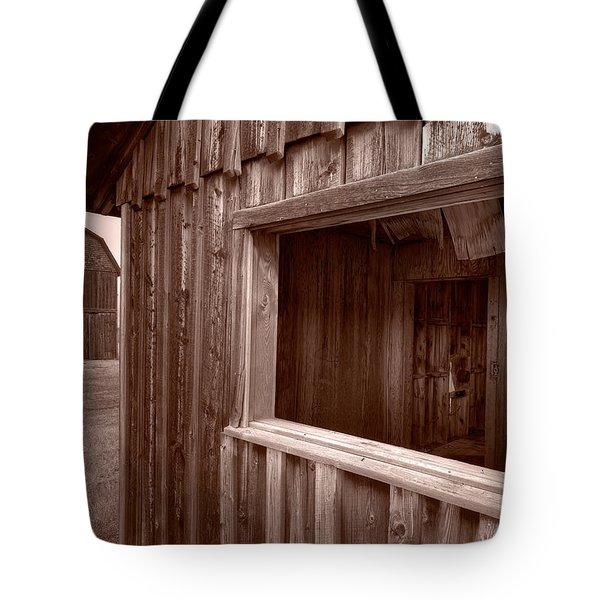 Barns Grand Tetons Tote Bag by Steve Gadomski