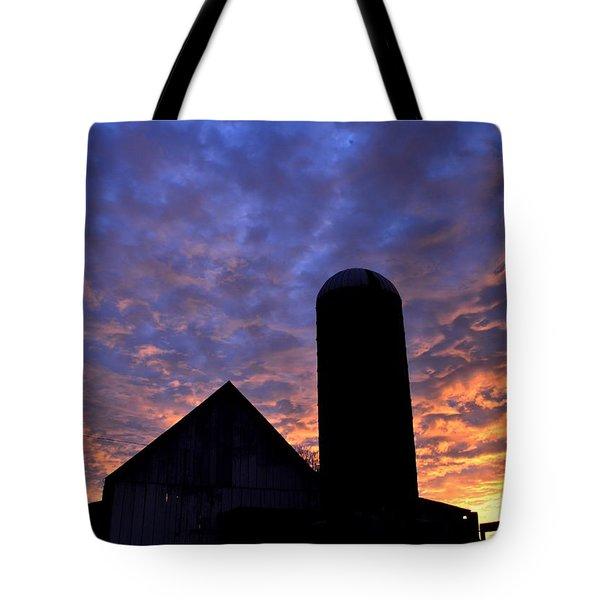 Barnyard Sunrise I Tote Bag