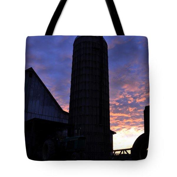 Barnyard Sunrise IIi Tote Bag