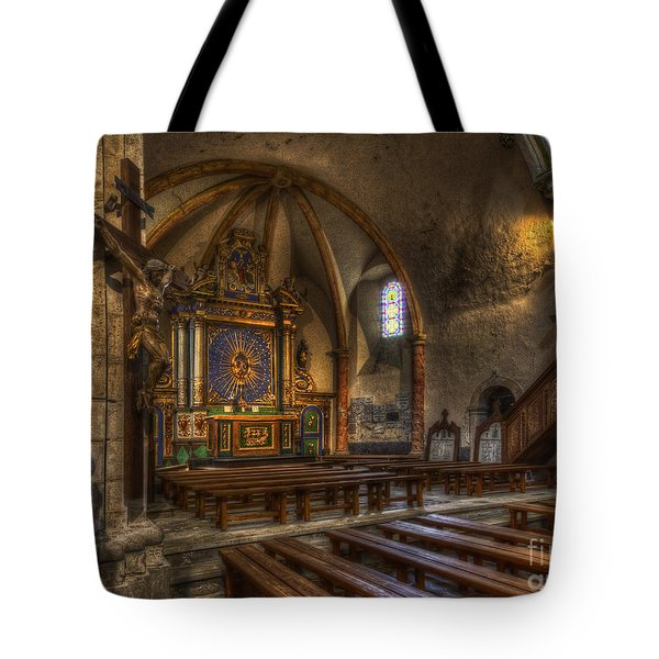 Baroque Church In Savoire France 2 Tote Bag