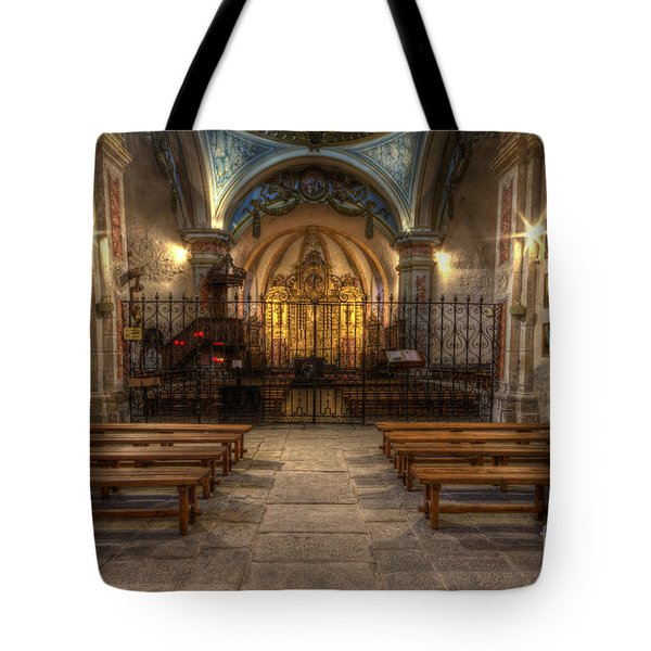 Baroque Church In Savoire France 4 Tote Bag