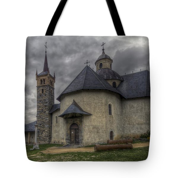 Baroque Church In Savoire France 6 Tote Bag
