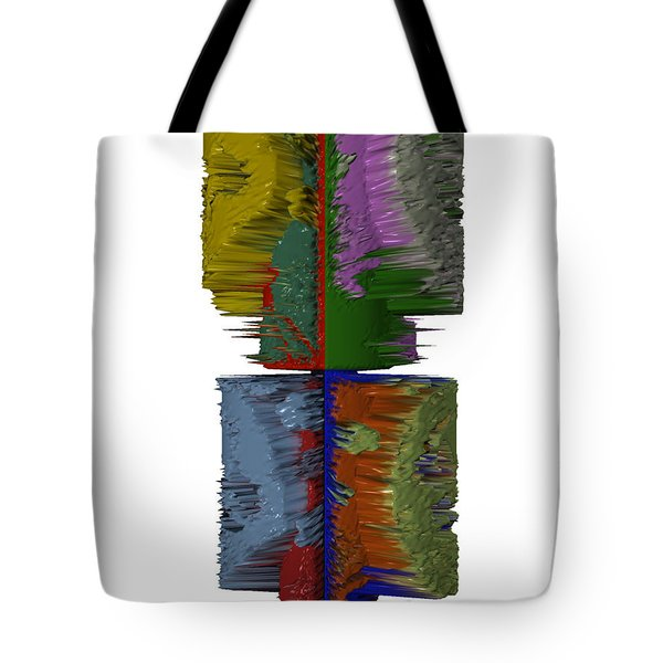 Bart Simpson's Spine Tote Bag by Robert Margetts