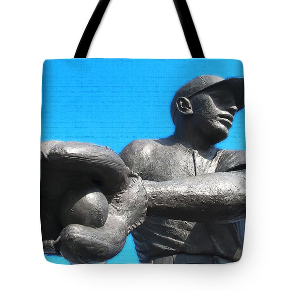 Baseball - Americas Pastime Tote Bag by Bill Cannon