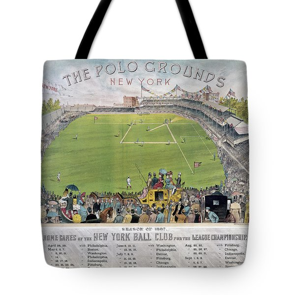 Baseball, 1887 Tote Bag by Granger