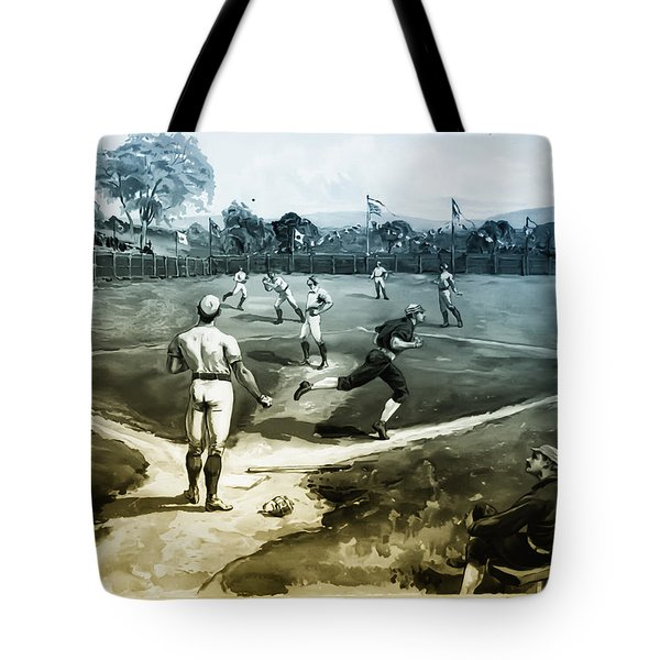 Baseball Tote Bag by Bill Cannon