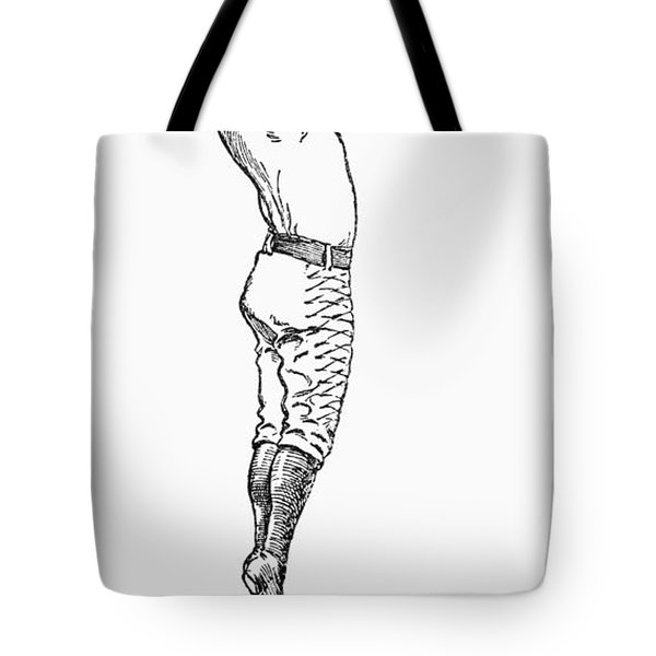 Baseball Player, 1889 Tote Bag by Granger