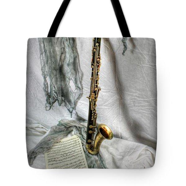 Bass Clarinet Tote Bag by Dan Stone