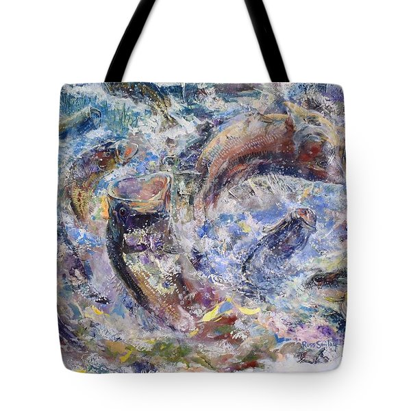 Bass Collage  Tote Bag