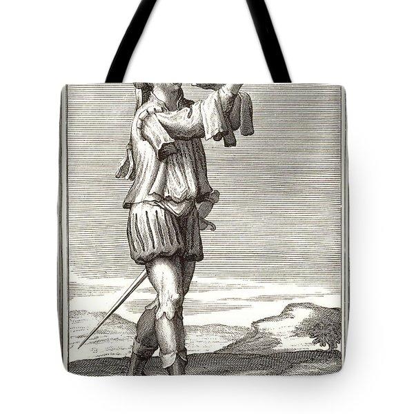 Bass Trombone, 1723 Tote Bag by Granger