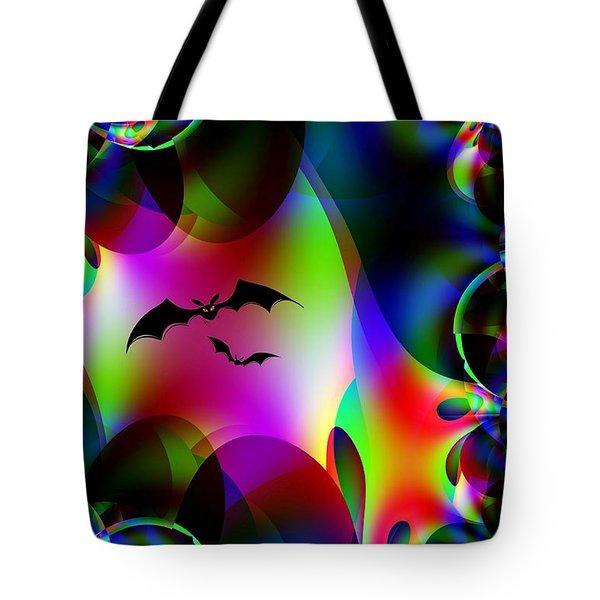 Bat Cave Tote Bag by Maria Urso